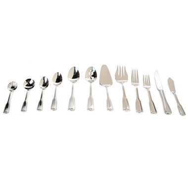 Dine in classic style with this Royal Doulton 90 piece 18/10 stainless steel flatware set.  #ilovetoshop