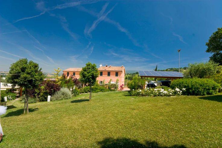☞Il grande parco esterno a #Sirolo ☞The large park outside in #Sirolo