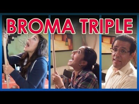 "Broma al triple ""Baño en la sala"" 