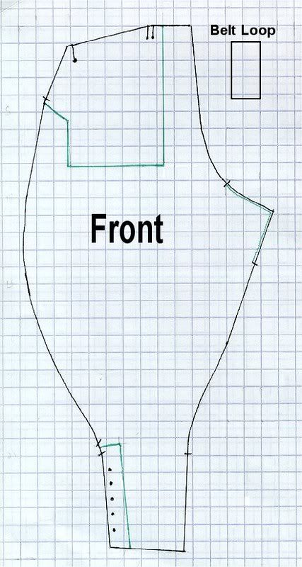 Corsetra's sewing diary - Women's Land Army Breeches pattern and review of an extant pair of breeches from 1917 ( WWI ). Would be great for period things, and awesome for a lady's Steampunk outfit, too...