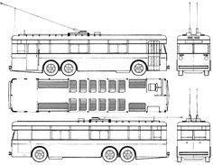 Bussing Obus der BVG Berlin 1933