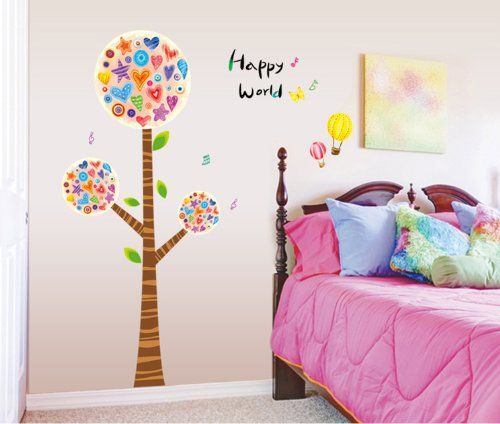 UfingoDecor Happy Tree Comic-3D- Wandsticker,Kinderzimmer Babyzimmer Entfernbare Wandtattoos Wandbilder UfingoDecor http://www.amazon.de/dp/B00D6H1C3I/ref=cm_sw_r_pi_dp_vzo.tb0BXD43Y