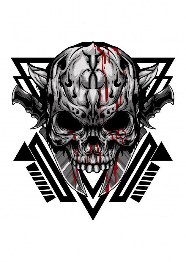 Skull Gangster Skull Tattoo Design Skull Gangster