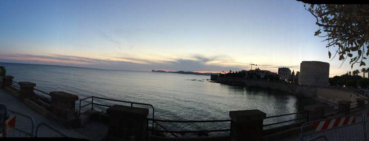 Alghero #Sunset