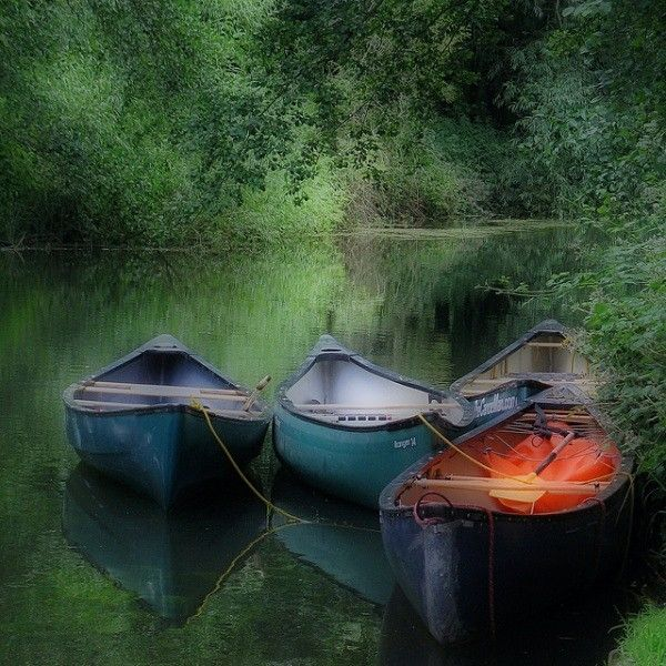 Canoes, Norfolk Broads