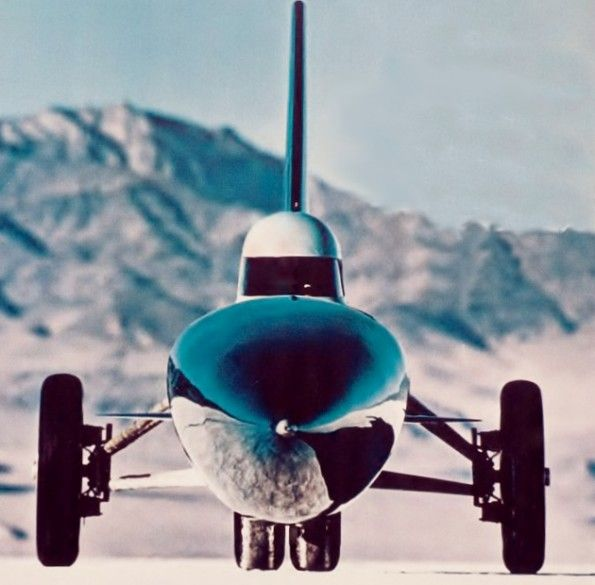 The Blue Flame- Natural Gas powered Land Speed Record-AOGHS