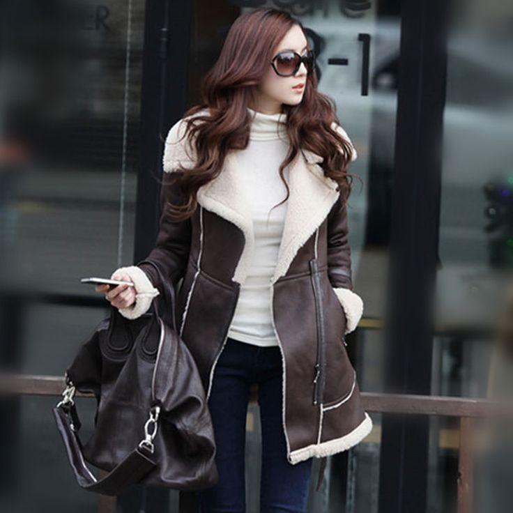 コート - コート フェイクムートンコート ボアコート レディースコート アウター 裏起毛 長袖 裏ボア 大きいサイズ