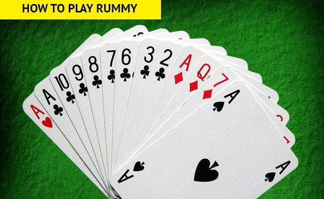 how to play rummy