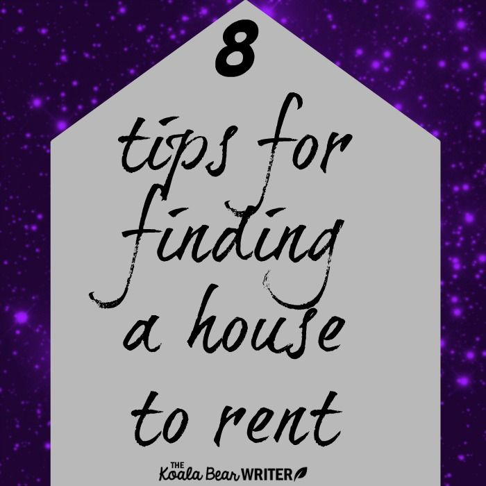 Finding a house to rent can be exciting and discouraging; here are 8 tips for narrowing your search, setting your expectations, and finding the right house.