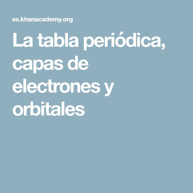 64 best ciencia images on Pinterest Preschool science, Science - copy la tabla periodica moderna pdf