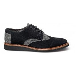Black Holden Suede Men's Brogues | perfect for the man in a suit!