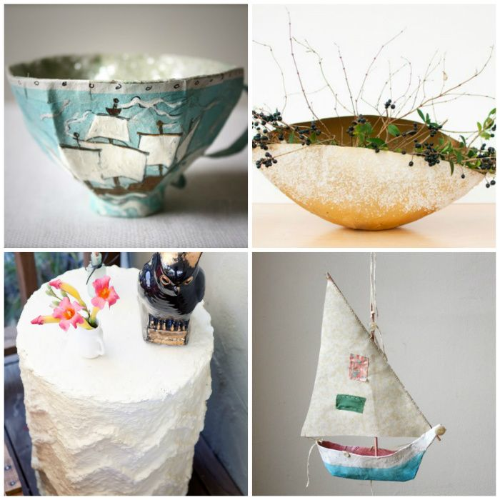 Diy 10 stunning paper mache projects for Paper mache craft ideas