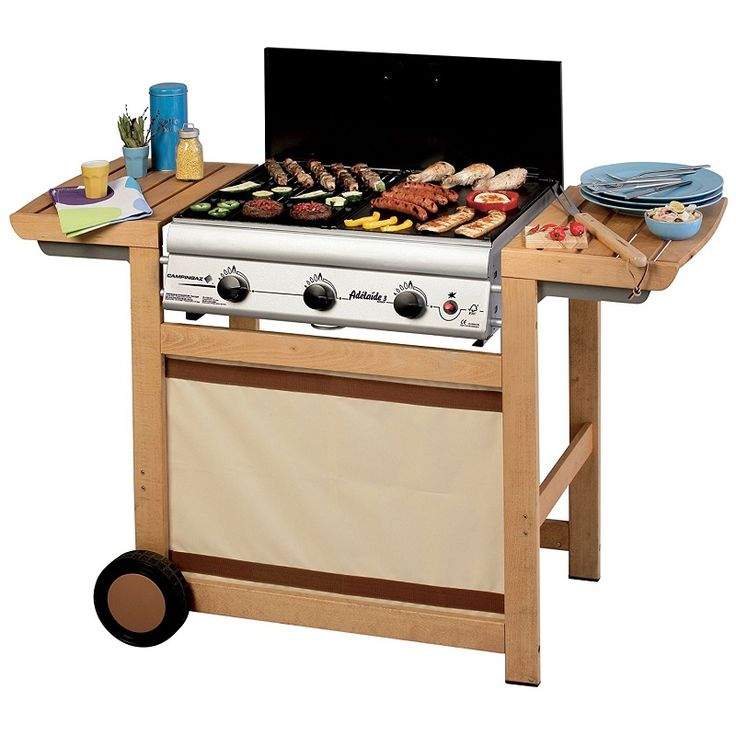 Campingaz Barbecue à Gaz Adelaide 3 Woody pas cher prix Barbecue Amazon 260.10 €