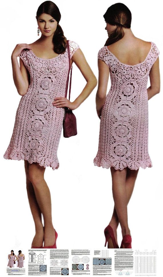 Crochet dress PATTERN sexy crochet dress pattern crochet