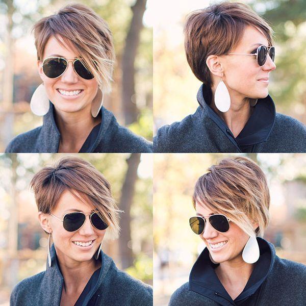 Pixie Cuts, Short Hair, Ombre Hair: The Great Hair Post
