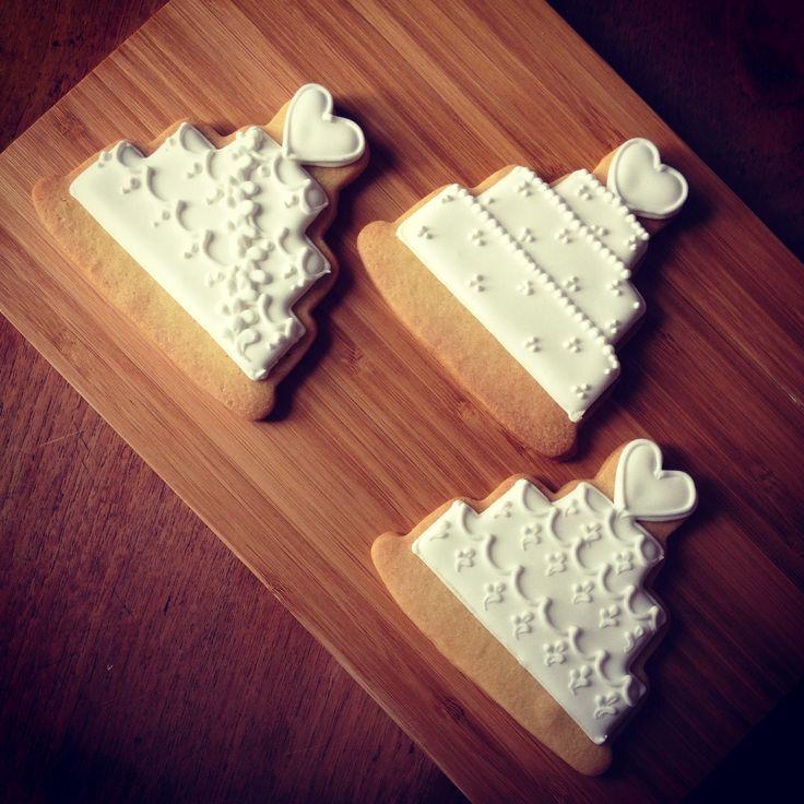 Wedding cake cookies - Cakes by Beate, The Birdcage, Stellenbosch