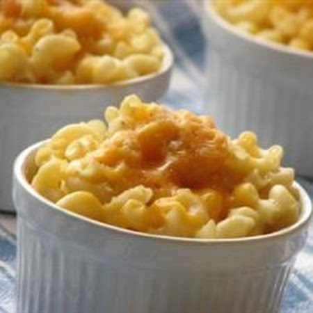 Baked Mac and Cheese for One...because I don't know how to stop eating ...