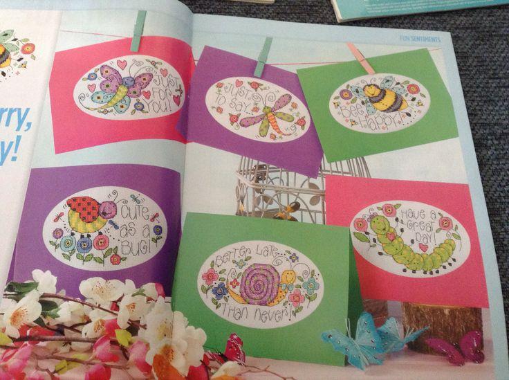 Cute Critters Cross Stitch Card Shop Issue 79 Hardcopy
