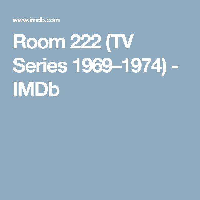 Room 222 (TV Series 1969–1974) - IMDb