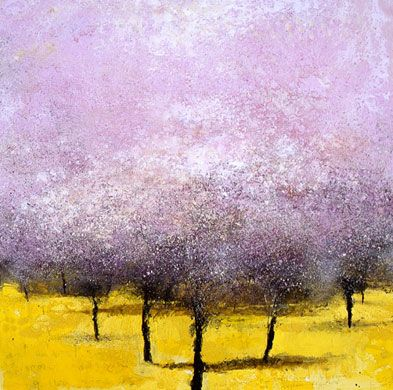 Credit: Kurt Jackson And Under the Almond Blossom are Yellow Flowers, 2007