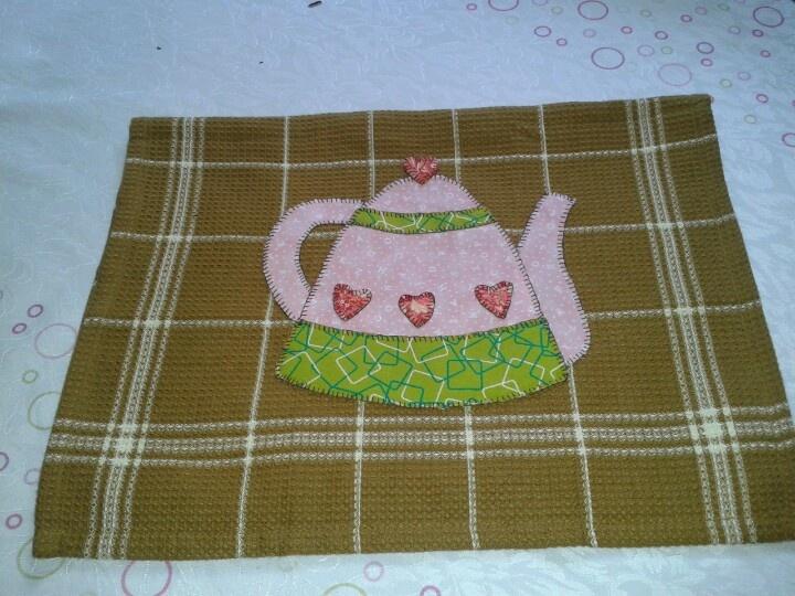 Toalla de cocina.: Manteles De, Towel, But It, More Beautiful, Kitchen