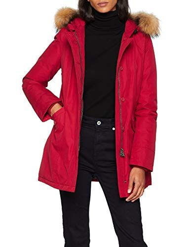 best loved d220e ff2ab Canadian Classics Fundy bay Parka Donna Rosso (Chili Pepper ...