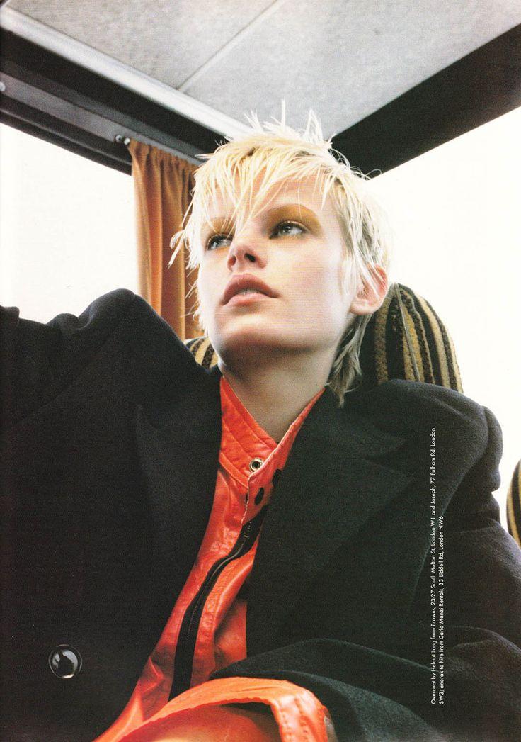 Emma Balfour by David Sims, The Face November 1993