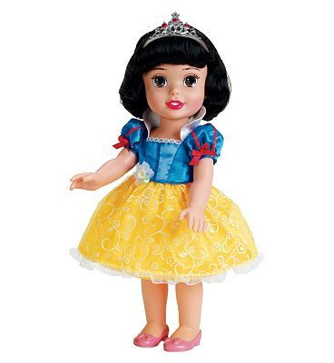 Disney Princess My First Disney Princess Snow White Toddler 80 Advantage card points. My First Disney Princess Snow White Toddler is an adorable doll with your favourite Disney princess re-imagined as a toddler! FREE Delivery on orders over 45 GBP. (Barcode EA http://www.MightGet.com/april-2017-1/disney-princess-my-first-disney-princess-snow-white-toddler.asp