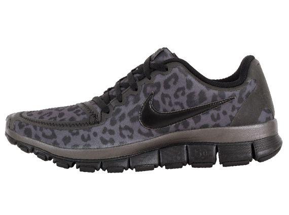 Nike Free Schwarz Leopard