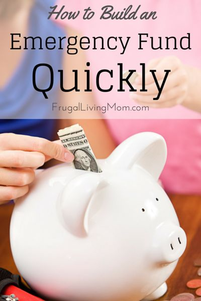 How to Build an Emergency Fund Quickly