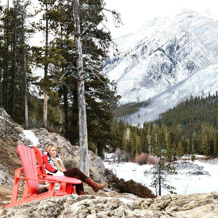 #Freedom #LakeMinnewanka #Banff #Canada  Total relaxation
