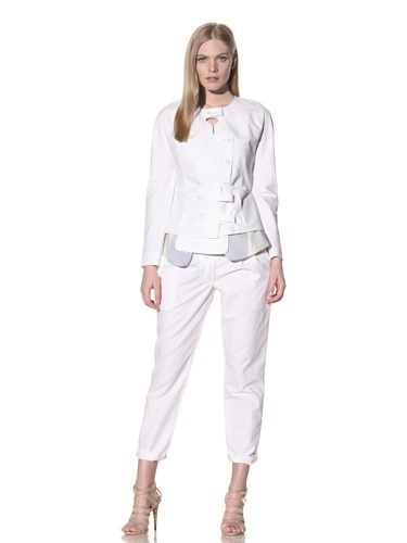 80% OFF Thakoon Women's Breakaway Jacket (White) (a favourite repin of VIP Fashion Australia www.vipfashionaustralia.com - Specialising in unique fashion, exclusive fashion, online shopping sites for clothes, online shopping of clothes, international clothing store, international clothes shop, cute dresses for cheap, trendy clothing stores, luxury purses )