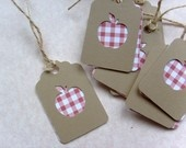 Little Red Apple Gift tags
