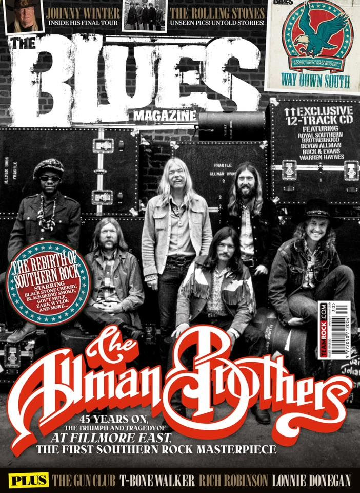The Allman Brothers Band (The Blues Magazine, may, 2016)
