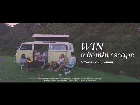 Win a 6ft6 Kombi Escape down the Great Ocean Road. A behind the scenes look from our photoshoot.
