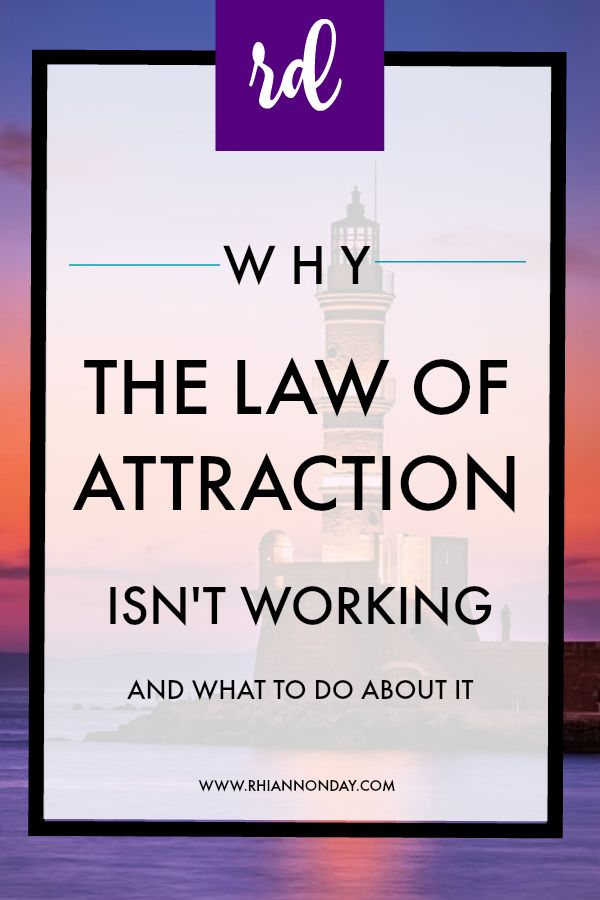 Law of attraction not working?  This post covers some of the main reason why your manifestation efforts are not working and what you can do to get back on track!