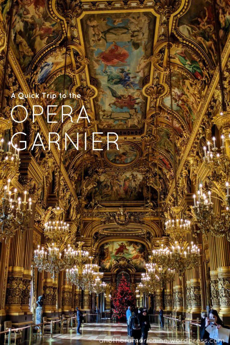 Palais Garnier Opera House, Ballet & Theater