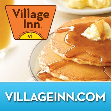 Stop by your Tulsa, OK Village Inn for Breakfast, Lunch or Dinner and be sure to stick around for The Best Pie in America®! (Wednesday is a good time to go, because you get a free slice of pie with anything you order, even if it's just a coffee. But we like the food too. It's a cheaper IHOP, basically. :)