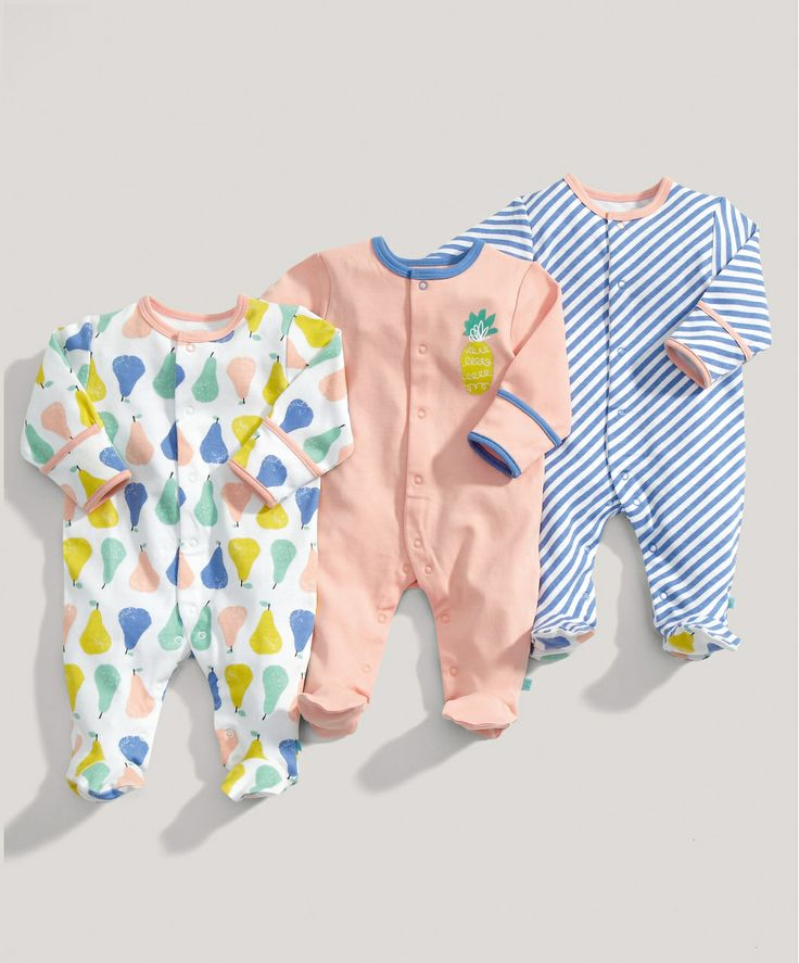 mamas & papas are really pulling out all the stops - LOVE THESE! Fruit All in Ones   Mamas & Papas   0 - 3, 3 - 6 months
