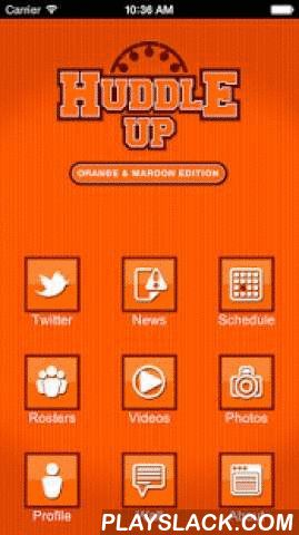 Huddle Up – Orange & Maroon  Android App - playslack.com ,  WDBJ7 is excited to bring you everything you want to know about Virginia Tech sports starting with football during the football season and then basketball will pick up. You will feel like you are inside the Hokies' huddle with this app. Follow the Twitter feeds of Virginia Tech players, coaches, cheerleaders, and analysts. You can also get insights from players and coaches from opposing teams. Relive the season highlights with…