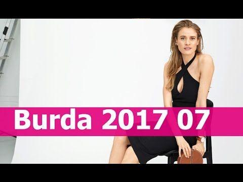 Burda 2017 07 с техническими рисунками
