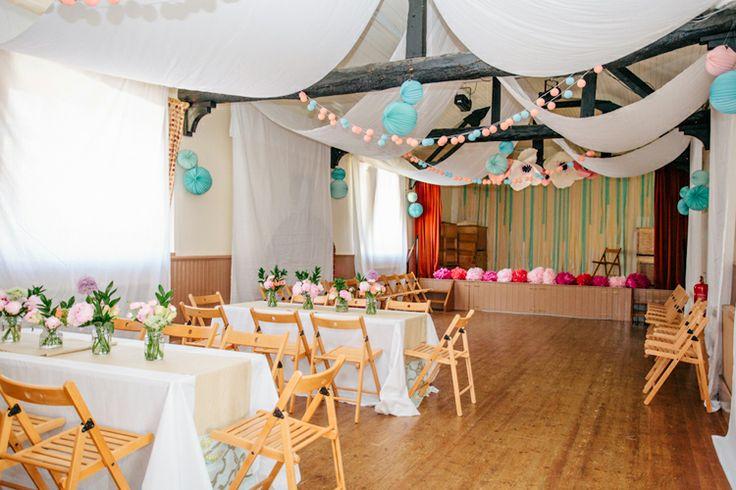Village hall decor