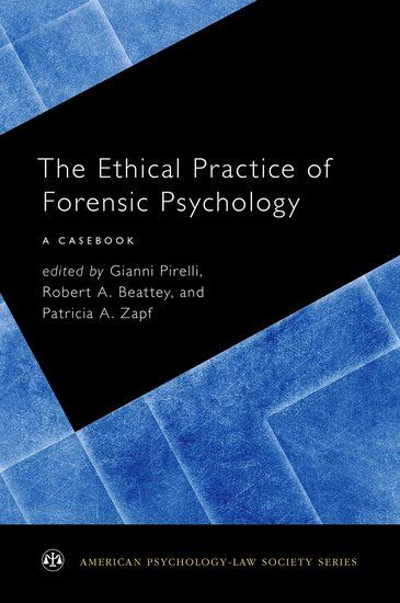 Few resources exist for those interested in developing their professional competence vis-à-vis ethics in forensic psychology, with the most recent text being published more than a decade ago. However, forensic psychology is changing quickly and there is a need for a current guide on ethics within the field.