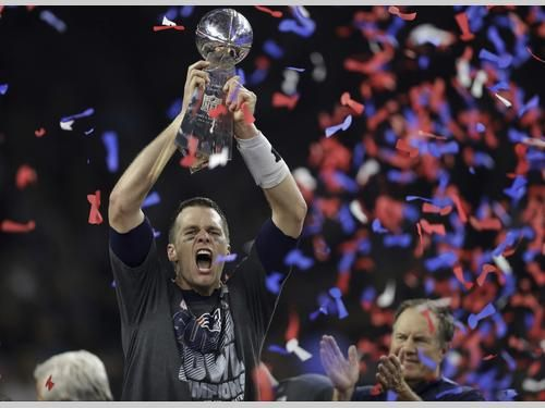 Brady- THE REAL M.V.P.  G.O.A.T- leads biggest comeback, Patriots win 34-28 in OT | New England Patriots.