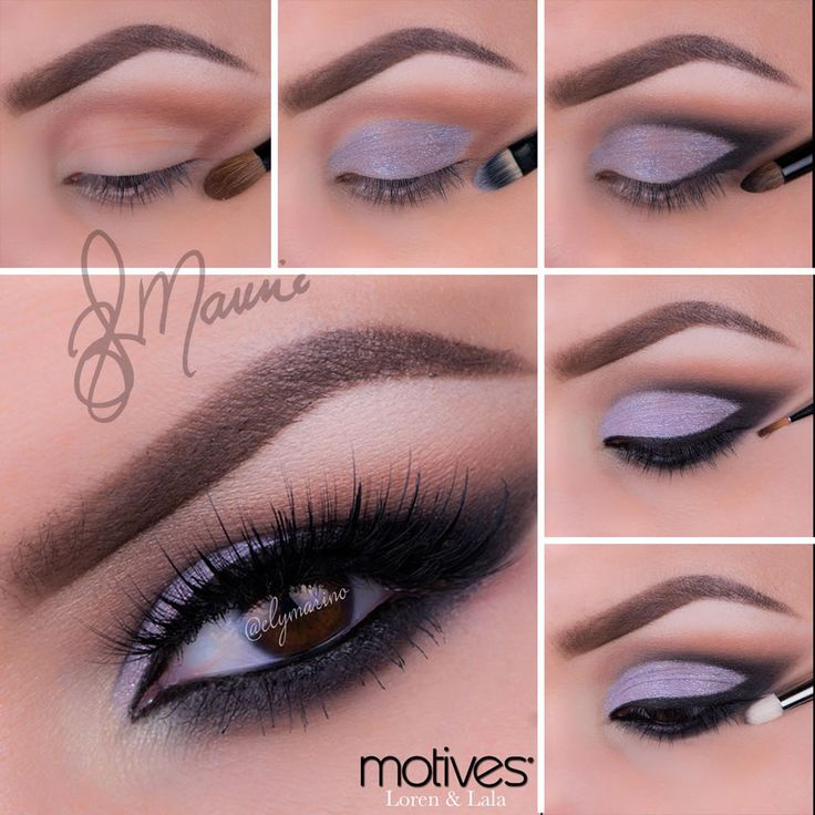 Sweet purple look by Ely Marino using Motives! What do you think of it? It's perfect for spring!   Get The Look ---> http://www.net2cosmetics.com/purple-look-by-ely-marino-using-motives-cosmetics/