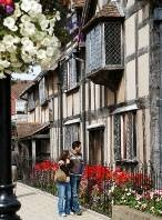 Shakespeare's Birthplace:     Photo © Peter Scholey.   Shakespeare's birthplace in Stratford-upon-Avon has become a place of pilgrimage for the literary minded since the 18th century. Today, the house in Henley Street has been preserved by the Shakespeare Birthplace Trust and is open to the public.    *A Tour of Shakespeare's Birthplace:     The highlight of any visit to the house is the birth room itself. Located on the first floor, the room is dressed with traditional 16th-century…