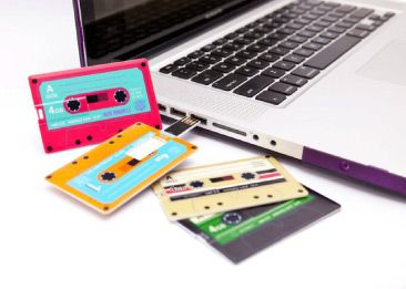 USB Mixtape Memory Card