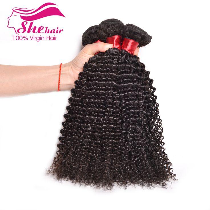 Peruvian Virgin Hair Kinky Curly 4Pcs 8A Peruvian Curly Hair Bundles Curly Human Hair Extension Peruvian Kinky Curly Virgin Hair