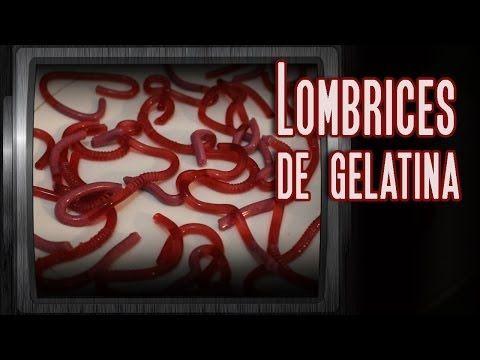 Lombrices de Gelatina: Como hacer golosinas con forma de lombrices. - Hagamos Cosas