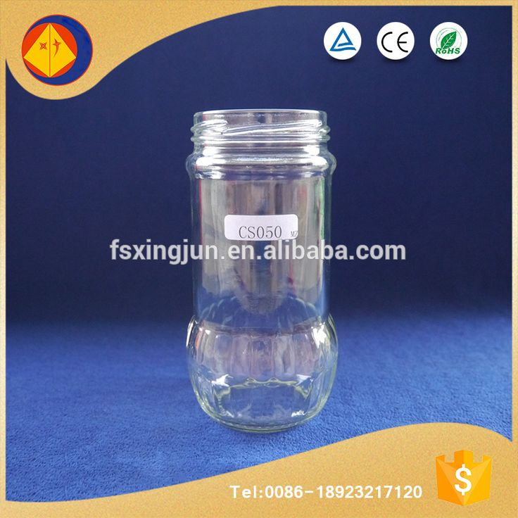Volume production food grade big capacity wide mouth airtight discount coffee glass jars